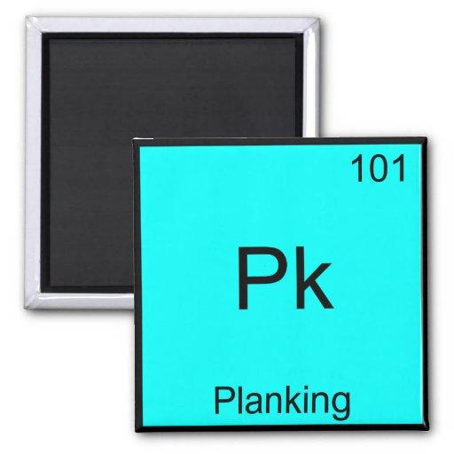 PK - Camiseta divertida de la química de Meme del  Imán De Frigorifico