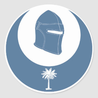 PK emblem (lg) Classic Round Sticker