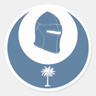 PK Emblem Classic Round Sticker