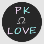 PK Love Omega Sticker