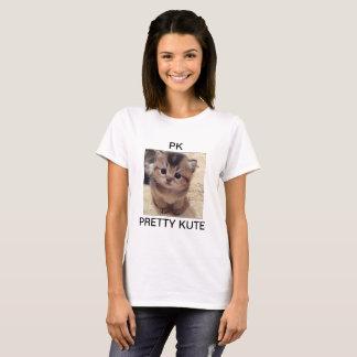 "PK"" print on our high quality basic t-shirt"