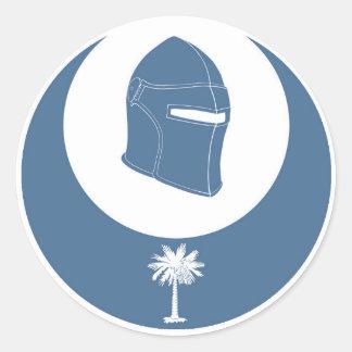PK simboliza (el lg) Pegatina Redonda