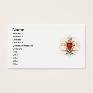 PKA Crest Color Business Card