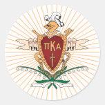PKA Crest Color Classic Round Sticker