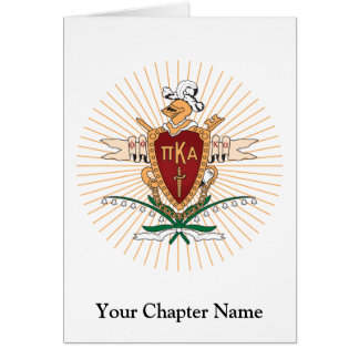 PKA Crest Color Greeting Cards