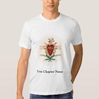 PKA Crest Color Tee Shirt