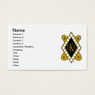 PKA Gold Diamond Business Card