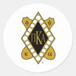 PKA Gold Diamond Classic Round Sticker