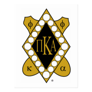 PKA Gold Diamond Postcard