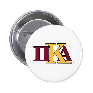 PKA Letters 2 Inch Round Button