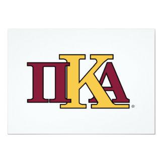 PKA Letters Custom Announcements