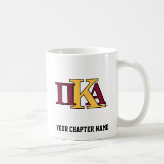 PKA Letters Classic White Coffee Mug