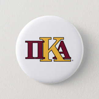 PKA Letters Pinback Button