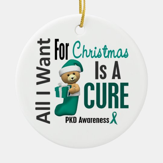 PKD All I Want For Christmas Ornaments