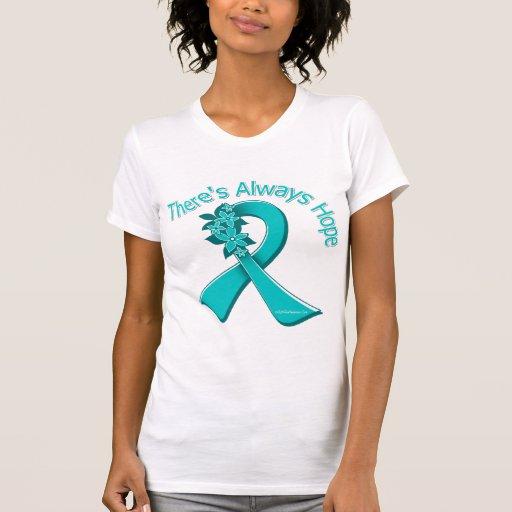PKD allí es siempre esperanza floral Camiseta
