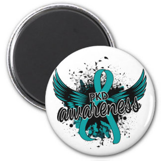 PKD Awareness 16 2 Inch Round Magnet