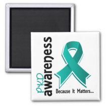 PKD Awareness 5 Polycystic Kidney Disease Magnet