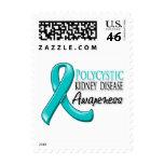 PKD Awareness Ribbon Postage Stamps