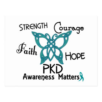 PKD Celtic Butterfly 3 Postcard