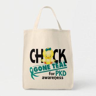 PKD Chick Gone Teal 2 Tote Bag
