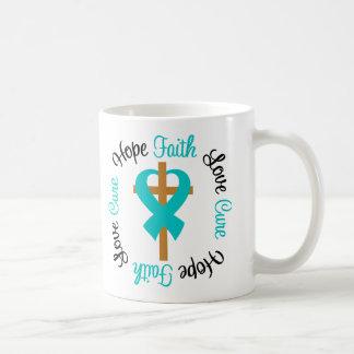 PKD Faith Hope Love Cross Coffee Mug