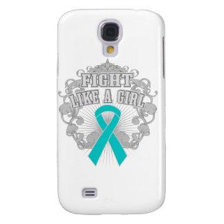 PKD Fight Like A Girl Fleurish Samsung Galaxy S4 Cases