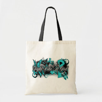 PKD  Fight Like A Girl Grunge Butterfly Budget Tote Bag