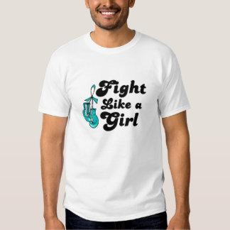 PKD Fight Like A Girl Motto Shirt
