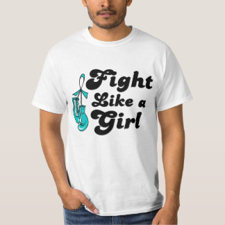 PKD Fight Like A Girl Motto T-shirt