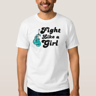 PKD Fight Like A Girl Motto T-shirts