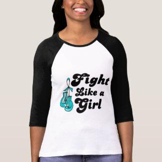 PKD Fight Like A Girl Motto Tee Shirt