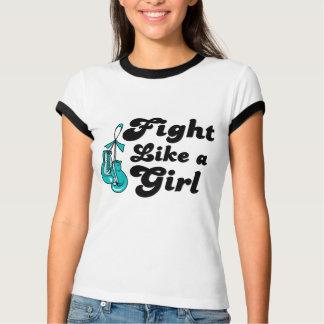PKD Fight Like A Girl Motto Tee Shirts