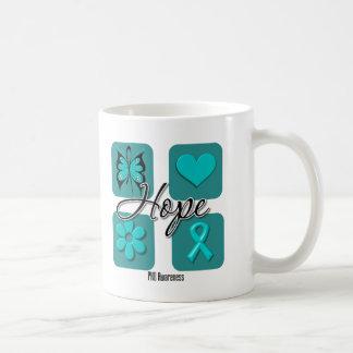 PKD Hope Love Inspire Awareness Classic White Coffee Mug