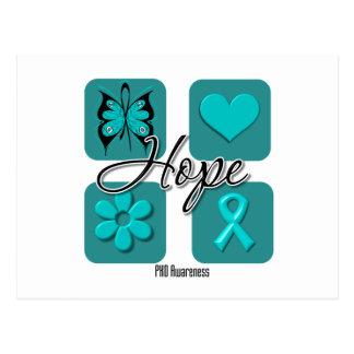 PKD Hope Love Inspire Awareness Post Card
