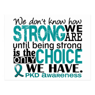 PKD How Strong We Are Postcard