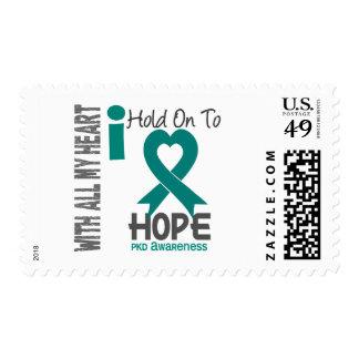 PKD I Hold On To Hope Stamp