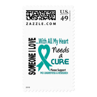 PKD Needs A Cure 3 Stamps