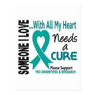 PKD Needs A Cure 3 Postcard