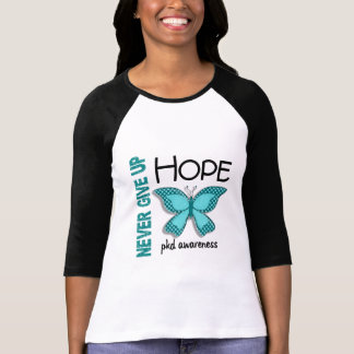 PKD Never Give Up Hope Butterfly 4.1 T-Shirt