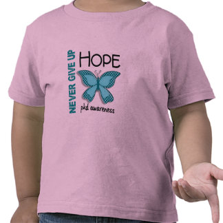 PKD Never Give Up Hope Butterfly 4.1 Shirts