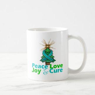 PKD Peace Love Joy Cure Mugs
