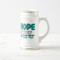 PKD Polycystic Kidney Disease HOPE 1 Beer Stein
