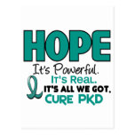 PKD Polycystic Kidney Disease HOPE 1 Postcards