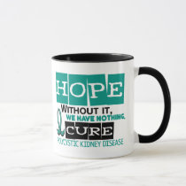 PKD Polycystic Kidney Disease HOPE 2 Mug