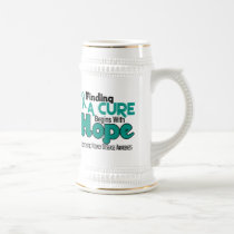 PKD Polycystic Kidney Disease HOPE 5 Beer Stein
