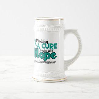 PKD Polycystic Kidney Disease HOPE 5 Beer Stein