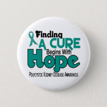 PKD Polycystic Kidney Disease HOPE 5 Button