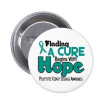 PKD Polycystic Kidney Disease HOPE 5 Button