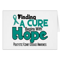 PKD Polycystic Kidney Disease HOPE 5 Card