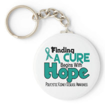 PKD Polycystic Kidney Disease HOPE 5 Keychain